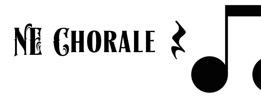 Northeast Chorale logo was created by Kristin Tangen.